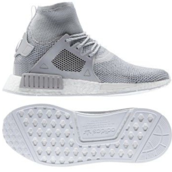 buy online 47739 b99a9 New Adidas NMD XR1 Boost Grey Men's Running Shoes